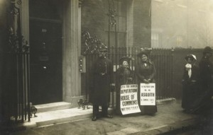 Human Letters to Downing Street, 1910 (Museum of London)