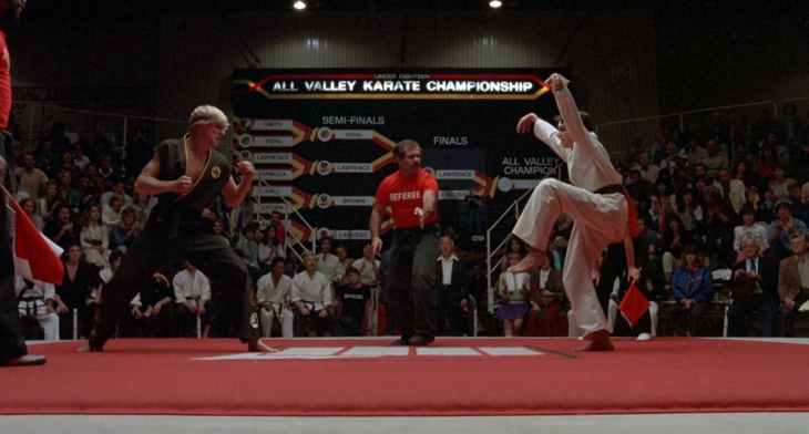 Nothing in this image has anything to do with karate.