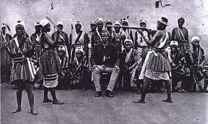 """Dahomey amazon2"" by Unknown - ALPERN, Stanley B. Amazons of Black Sparta: The Women Warriors of Dahomey, London: C. Hurst & Co. Ltd. 2011. Licensed under Public Domain via Wikimedia Commons -"