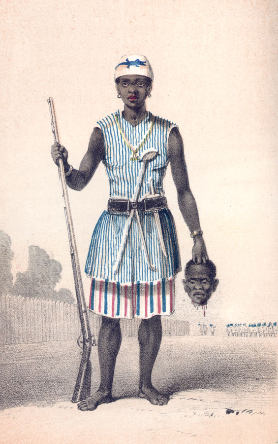 Ref: Frederick E. Forbes, Dahomey and the Dahomans