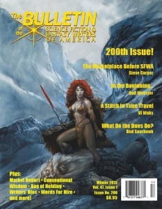 The SFWA Magazine cover, Winter 2013